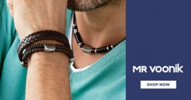 Mr voonik Men's Trendy Jewellery: Get Min 50% OFF