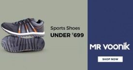 Mr voonik Mr.Voonik Sale : Get Sport Shoes Under Rs. 699 | Upto 50% OFF