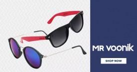 Mr voonik Mr.Voonik Offer : Sunglasses Starts At Rs. 299