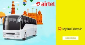 Mybustickets MBT Airtel Payments Bank Offer : Flat Rs. 100 Discount + Rs. 100 Cashback + Rs. 50 Airtel Cashback