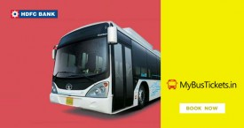 Mybustickets HDFC Card - Get Rs. 200 OFF