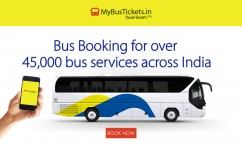 Mybustickets 15% OFF on Paying Via Axis Bank Card