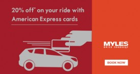 Mylescars 20% OFF* on Your Ride With American Express Cards