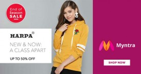 Myntra Special Offer : Upto 50% OFF on Harpa Women's Clothing & Apparels