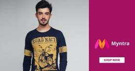 Myntra Myntra Offer : Get Upto 70% OFF on Men's Casual Wear