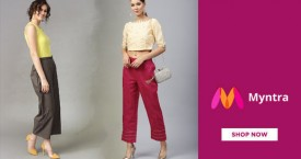 Myntra Special Offer : Upto 60% OFF on Skirt Palazzos