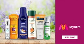 Myntra Myntra Best Offer : Upto 40% OFF on Skincare Essential