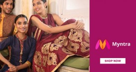 Myntra Hot Deal : Men's & Women's Ethnic Wear Upto 70% OFF