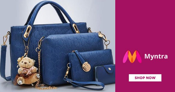 Myntra Offer : Get Min 60% OFF on Lavie Handbags And Shoes