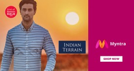 Myntra Min 50% OFF on Indian Terrain