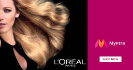Myntra Best Price : Get Upto 30% OFF on Loreal Beauty Products