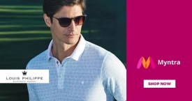 Myntra 30% - 50% OFF on Louis Philippe