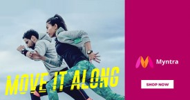 Myntra Upto 70% OFF on Running Shoes & Apparel