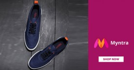Myntra Amazing Deal : Flat 50% Off on Casual Shoes* Adidas, Benetton, Fila, Levi's, etc.