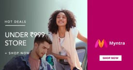 Myntra Store Under Rs. 999