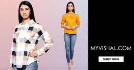 Vishal MyVishal Special Offer : Women Shirts, Tops, T-shirts Starts At Rs. 249