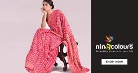 Ninecolours Sarees Under Rs. 599