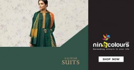Ninecolours Best Deal : Upto 30% OFF on Salwar Suits