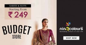 Ninecolours Best Price : Sarees & Suits From Rs. 249