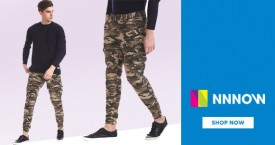 Nnnow Great Deals : Upto 50% OFF on Flying Machine Men Trousers