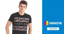 Nnnow Nnnow Deal : Men's Tees & Polos Under Rs. 499