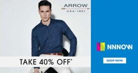 Nnnow Take 40% OFF on Arrrow