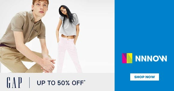 GAP : Buy 3 Get Extra 30% Off on Tees and Jeans