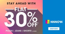 Nnnow Amazing Offers On Polos, Jeans & Shorts
