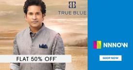 Nnnow Take 50% OFF on True Blue