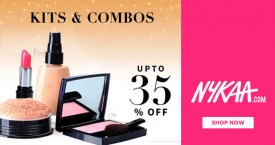Nykaa Hot Deal : Upto 35% OFF on Makeup Kits & Combos