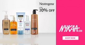 Nykaa Neutrogena - Upto 30% OFF