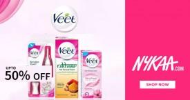 Nykaa Nykaa Sale : Upto 50% OFF on Veet Products