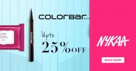 Nykaa Upto 25% OFF on Colorbar