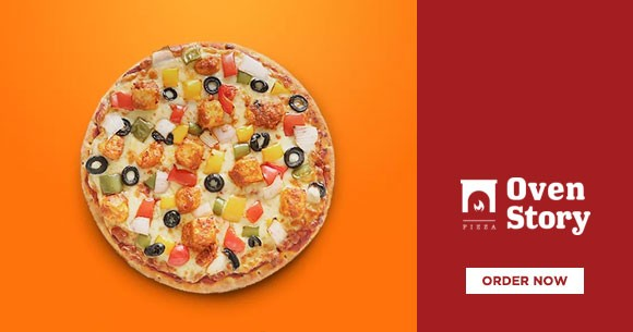 Pizzas : Buy 1 Get 1 Free