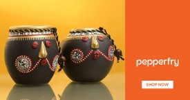 Pepperfry Special Offer : Decorative Pots & Jars Upto 40% OFF