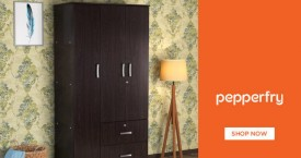Pepperfry Fabulous Deal : Upto 58% OFF on Wardrobe