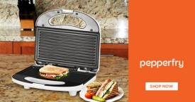 Pepperfry Attractive Deal : Upto 36% OFF on Sandwich Maker