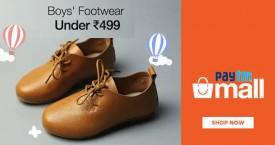 Paytmmall Hot Deal : Boys Footwear Under Rs. 499