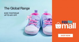 Paytmmall Kids Footwear Sale : Upto 60% OFF on The Global Range