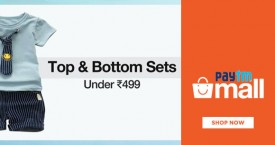 Paytmmall Hot Deal : Kids Tops & Bottom Under Rs. 499