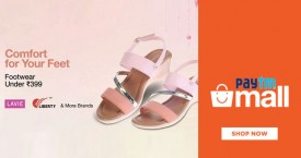Paytmmall Best Price : Get Women's Footwear Under Rs. 399
