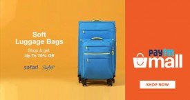 Paytmmall Exclusive Deal : Upto 70% Off on Soft Luggage Bags