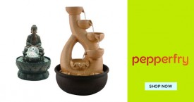 Pepperfry Upto 50% Off on Home Decor.