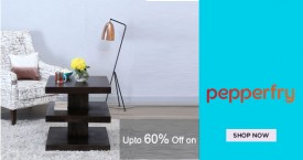 Pepperfry Upto 60% Off on The Acropolis Collection.