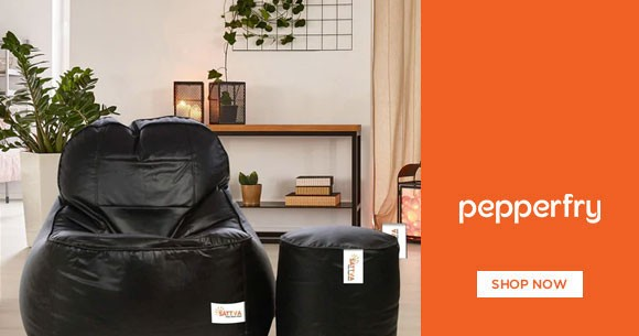 Best Price : Get Upto 70% OFF on Bean Bags
