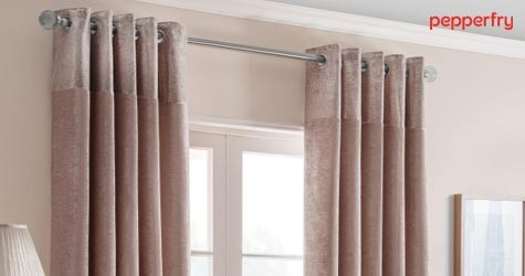 Pepperfry Hot Offer : Upto 70% OFF on Curtains