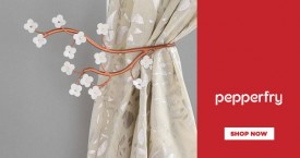 Pepperfry Upto 40% OFF on Curtains Accessories