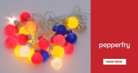 Pepperfry Festive Lights - Upto 80% OFF