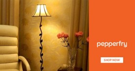 Pepperfry Best Deal : Upto 40% OFF on Floor Lamps