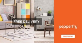 Pepperfry Free Shipping : Get Free Shipping on Orders Above Rs.999